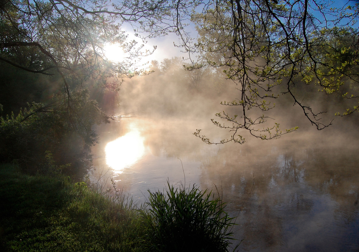James Selva of Housatonic, MA: Daybreak on the Housatonic River